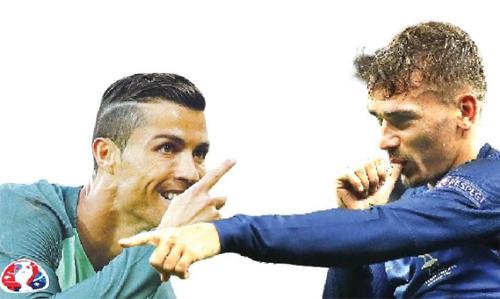 Griezmann: 'Quả bóng Vàng FIFA đã thuộc về Ronaldo'