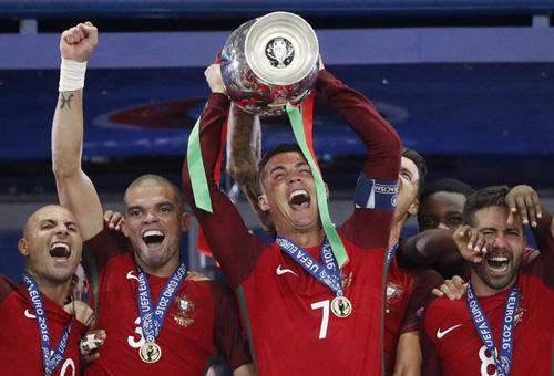 Cầu thủ Bồ Đào Nha được thưởng đậm khi vô địch Euro