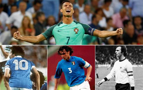 Năm điều đầu tiên Ronaldo làm được nhờ Euro 2016