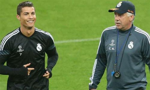 """Ancelotti: """"Không phải nói nhiều khi làm việc với Ronaldo và Ibrahimovic"""""""
