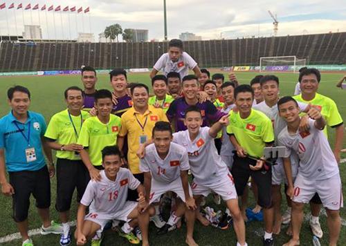 U16 Việt Nam lội ngược dòng thắng đậm U16 Myanmar