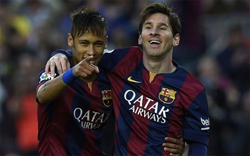 """Ronaldinho: """"Messi giúp đỡ Neymar giống như tôi từng làm với cậu ấy"""""""