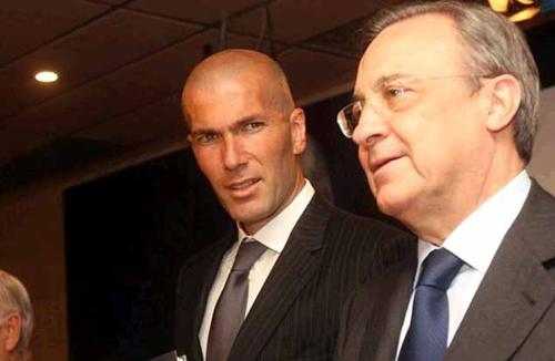 Zidane bất hoà với Chủ tịch Real vì thần đồng 17 tuổi