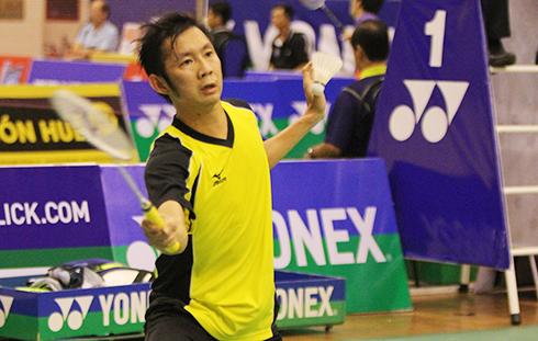 Tiến Minh bỏ cuộc ở giải Vietnam Open vì bị cảm, sốt