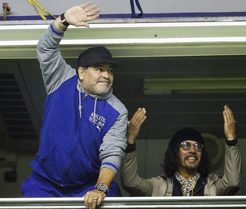 Maradona sẵn sàng dẫn dắt tuyển Argentina không lương