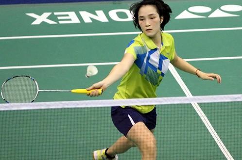 Bạn gái Tiến Minh thẳng tiến vào tứ kết Vietnam Open 2016