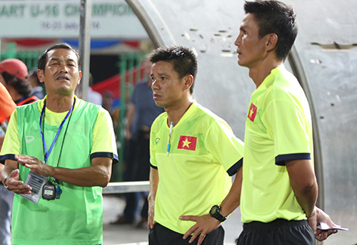 """HLV U16 Việt Nam: """"Cầu thủ mất Cup vì quá hưng phấn"""""""