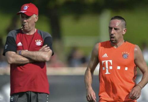 Ribery trách Guardiola, xem Ancelotti như món quà cho Bayern