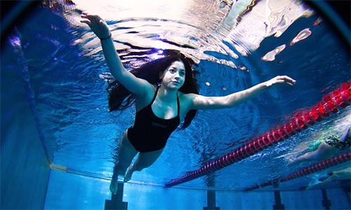 Cô gái Syria bơi ba tiếng rưỡi trên biển được dự Olympic