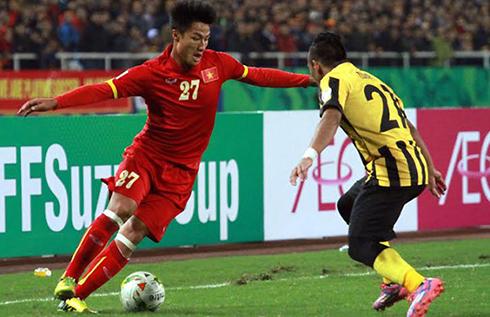 Việt Nam chung bảng với Malaysia và Myanmar ở AFF Cup 2016
