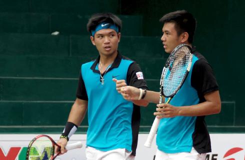 Hạ đôi Trung Quốc, Hoàng Nam - Hoàng Thiên vào bán kết giải F2 Futures