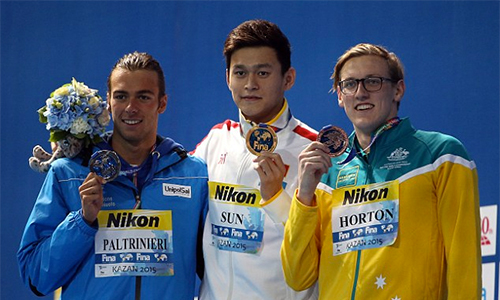 Kình ngư số một Trung Quốc gây thị phi ở Olympic 2016