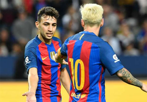 Messi hai lần kiến tạo, Barca đánh bại Leicester