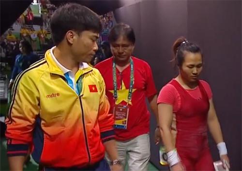 Lực sĩ Việt vỡ mộng đoạt huy chương Olympic 2016 vì trọng tài