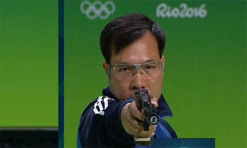 Hoàng Xuân Vinh giành HC vàng, phá kỷ lục Olympic