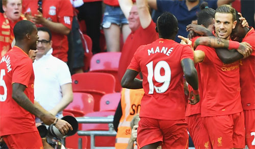 Liverpool đè bẹp Barca với tỷ số 4-0