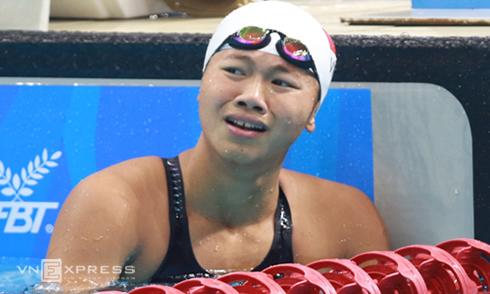 """Ánh Viên: """"Olympic 2016 là giải đấu thất bại của tôi"""""""