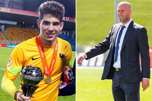 Zidane cho con trai 18 tuổi vào danh sách đấu Siêu Cup châu Âu