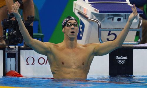 Phelps giành hai HC vàng liên tiếp trong vòng một tiếng