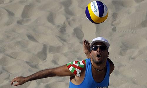 VĐV bóng chuyền toàn thắng ở Olympic nhờ tuyệt kỹ giao bóng