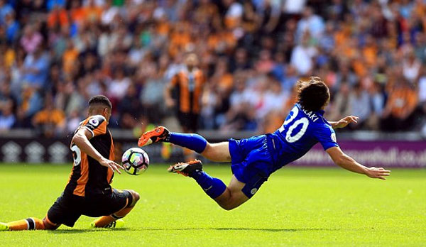 Leicester City thua đội tân binh trận mở màn Ngoại hạng Anh