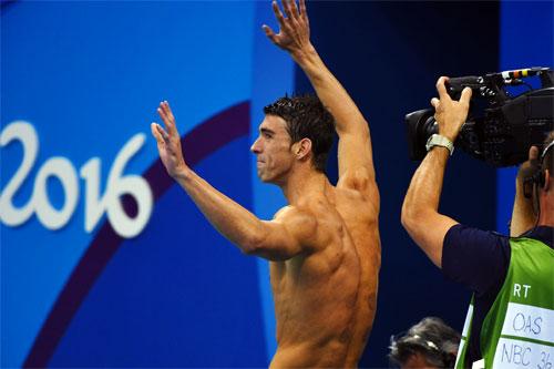 Phelps kết thúc Olympic với huy chương vàng thứ năm