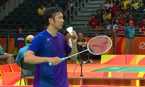 Thất bại trước Lin Dan, Tiến Minh chia tay Olympic 2016
