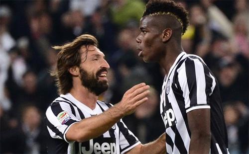 """Pirlo: """"Juventus vẫn đang cười vào Man Utd về vụ Pogba"""""""
