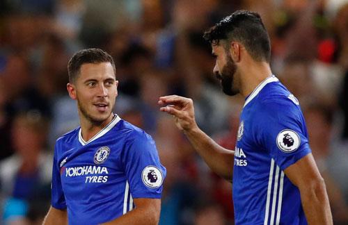 Costa nổ súng phút cuối, Chelsea thắng mở màn cùng Conte