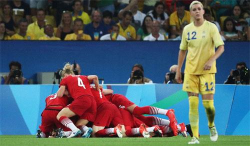 Đức lần đầu tiên vô địch bóng đá nữ Olympic
