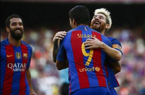 Bộ ba MAS biến hóa, Barca đại thắng ngày mở màn Liga
