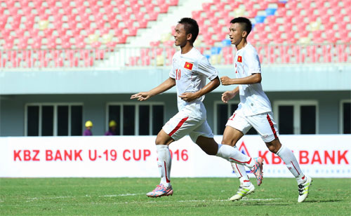 Video: U19 Việt Nam vs U19 Thái Lan