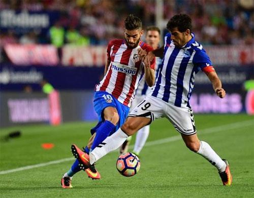 Bị đội mới lên hạng cầm chân, Atletico khởi đầu gây thất vọng