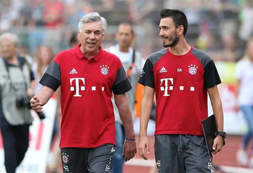 Carlo Ancelotti bổ nhiệm con trai làm trợ lý tại Bayern