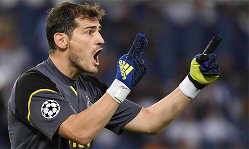 Casillas năm thứ 18 liên tiếp dự Champions League