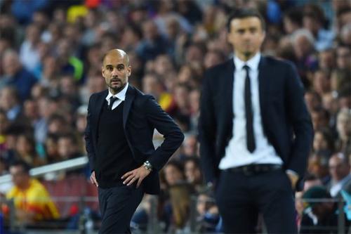 Guardiola có thể đối đầu Barca ở vòng bảng Champions League
