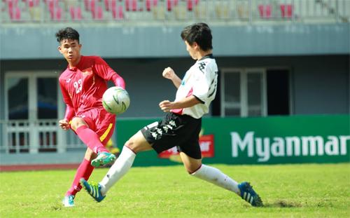 U19 Việt Nam vs U18 Consadole Sapporo