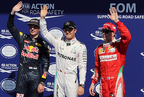 Hamilton gặp hạn, Rosberg giành pole tại Spa-Francorchamps - ảnh 2