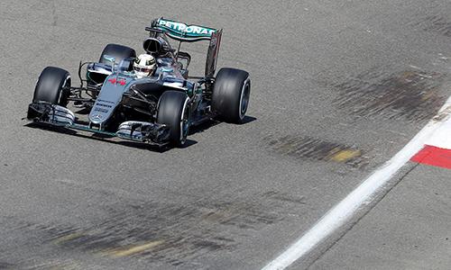 Hamilton gặp hạn, Rosberg giành pole tại Spa-Francorchamps - ảnh 1