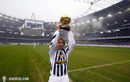 Pavel Nedved: Mảnh ký ức pha lê của Juventus