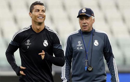 """Ancelotti: """"Real sẽ vô địch La Liga, Ronaldo làm Vua phá lưới"""""""