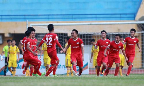 Viettel giành vé đá trận play-off cuối cùng để lên V-League