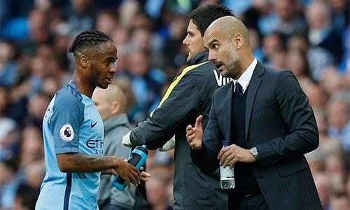 """Sterling và bóng dáng """"người cha tinh thần"""" Guardiola"""