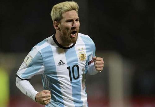 Messi đưa Argentina lên dẫn đầu vòng loại World Cup