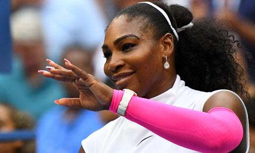 Serena vượt kỳ tích của Federer, vào tứ kết Mỹ Mở rộng