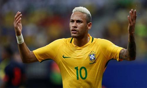 Neymar đưa Brazil bay cao tại vòng loại World Cup 2018