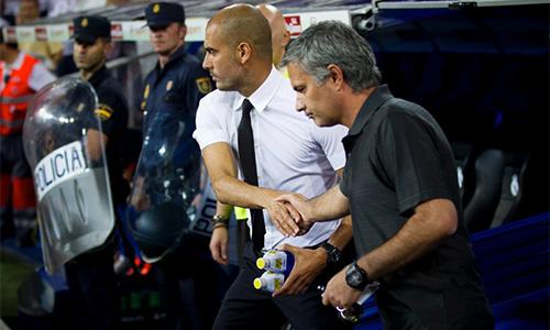 Guardiola thắng áp đảo Mourinho trước lần chạm trán thứ 17