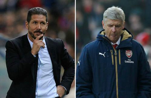 """Parlour: """"Simeone là sự thay thế hoàn hảo cho Wenger"""""""
