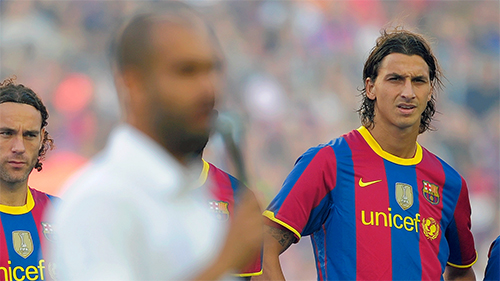 Ibrahimovic - Guardiola: Cuộc chiến giữa lửa và băng