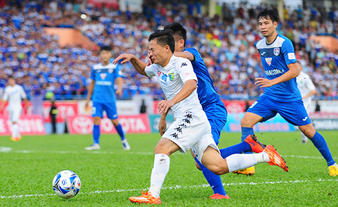 Đánh bại Quảng Ninh, Hà Nội TT rộng cửa vô địch V-League